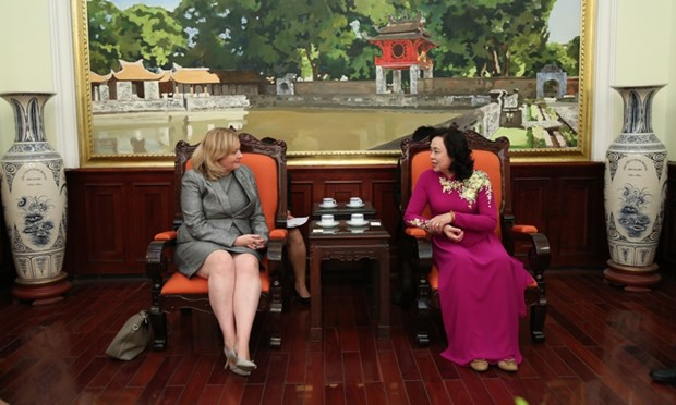 Hanoi keen to boost cooperation with Ireland hinh anh 1