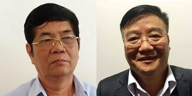Party Central Committee Secretariat disciplines two officials hinh anh 1