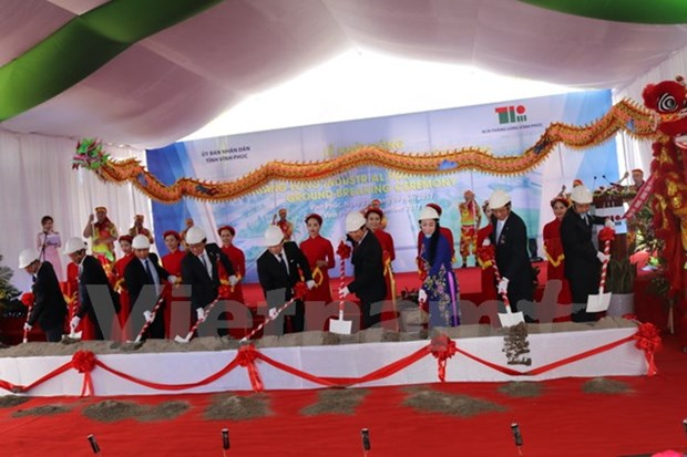 Sumitomo begins building Thang Long Industrial Park III hinh anh 1