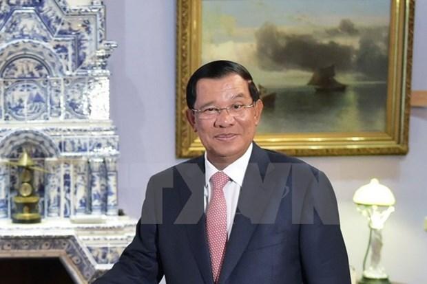 PM Hun Sen hails development in Vietnam-Cambodia relations hinh anh 1