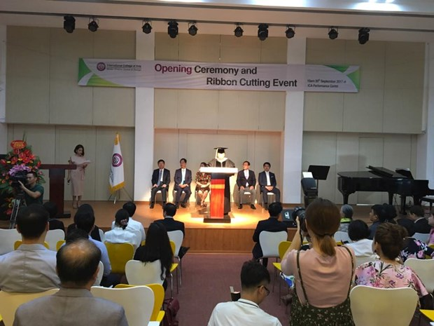 International arts college inaugurated in Hanoi hinh anh 1