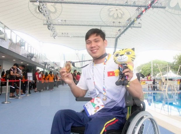 ASEAN Para Games 2017: Vietnam earns total 31 gold medals hinh anh 1