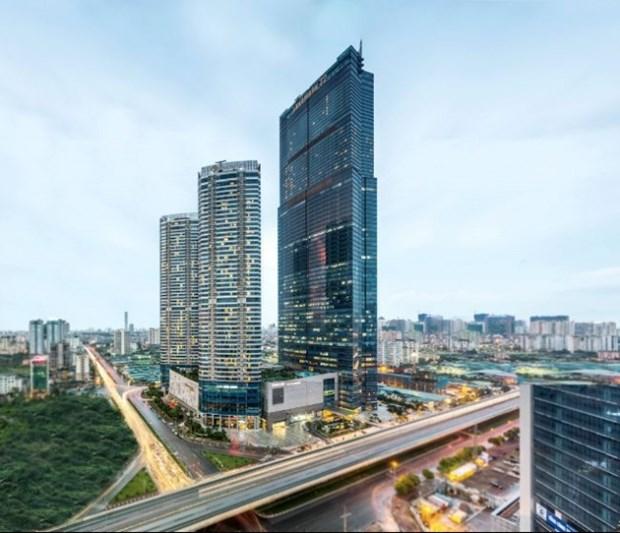 IHG opens Vietnam's highest hotel in Hanoi hinh anh 1
