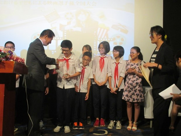 National student film making contest presents awards hinh anh 1