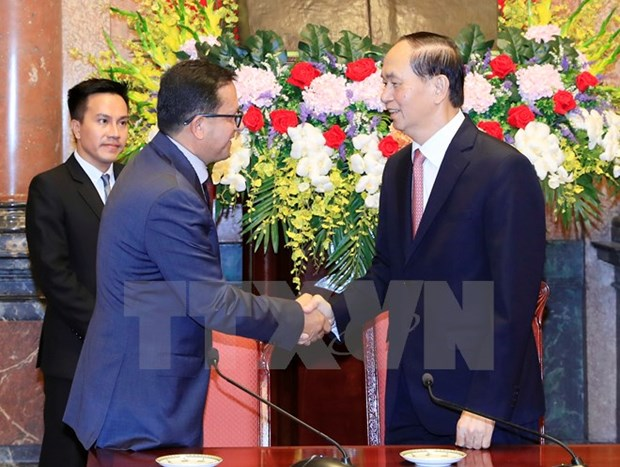 President urges further support from int'l Red Cross societies hinh anh 1