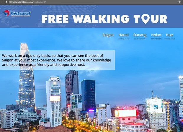 Vietravel Hanoi to offer free walking tours to visitors hinh anh 1