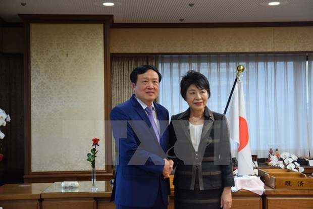 Japan's justice ministry keeps all-round cooperation with Vietnam hinh anh 1