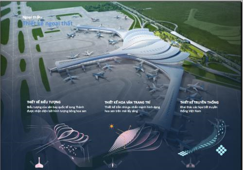 Winning designs of Long Thanh airport honoured hinh anh 1