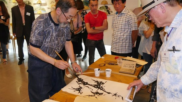 90 international artists display works at exhibition hinh anh 1