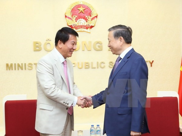 Minister of Public Security urges stronger ties with Japan, Turkey hinh anh 1