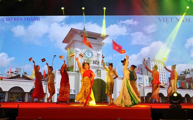 ASEAN village opens in HCM City hinh anh 1