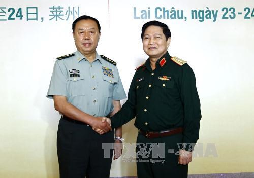 Vietnam, China work together to maintain peaceful border hinh anh 1
