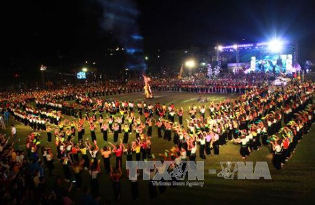 Visitors dazzled by cultural activities in Yen Bai hinh anh 1