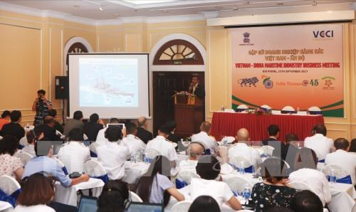 Vietnam, India cooperate in shipbuilding hinh anh 1