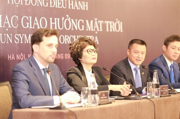 Newly-founded Sun Symphony Orchestra recruits musicians hinh anh 1