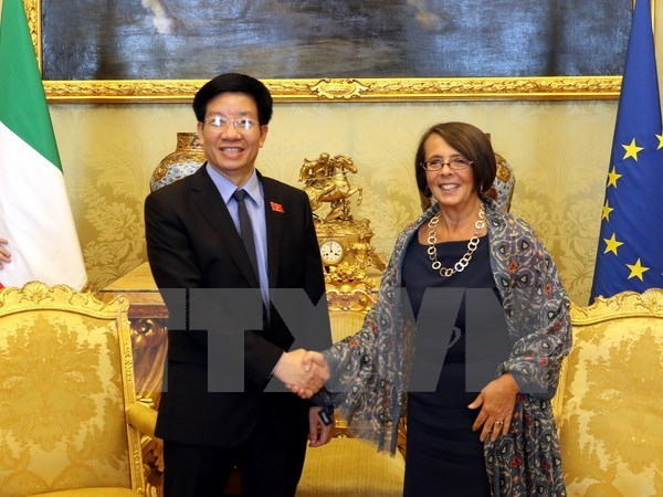 Vietnam's National Assembly promotes ties with Italian parliament hinh anh 1