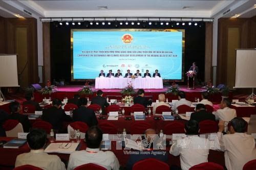 Mekong Delta looks towards sustainable, climate-resilient development hinh anh 1
