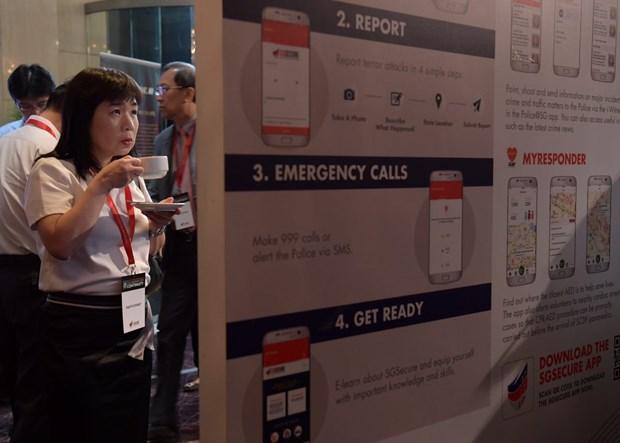 Singapore prepares companies for terrorist threats hinh anh 1