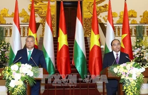 Vietnam, Hungary issue joint statement hinh anh 1