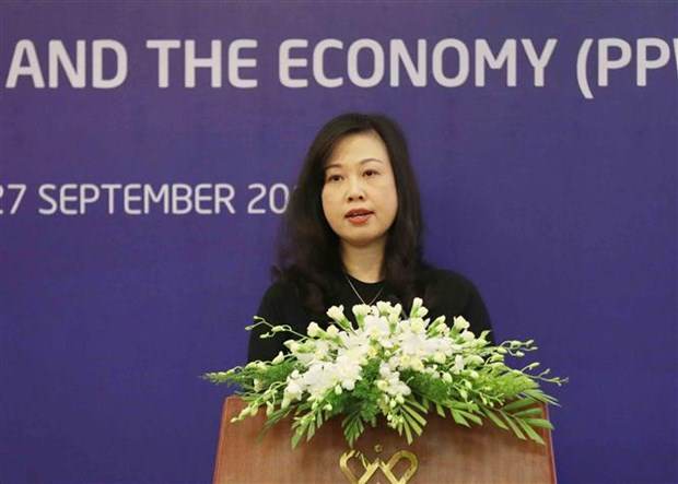 2017 women & economy forum helps with APEC's common efforts hinh anh 1