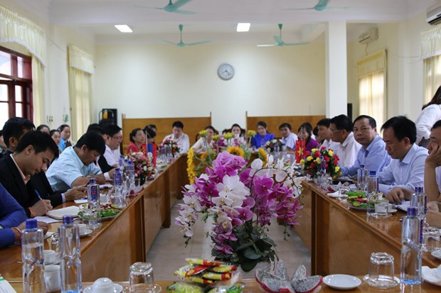 Dien Bien cooperates with northern Lao provinces to develop agriculture hinh anh 1