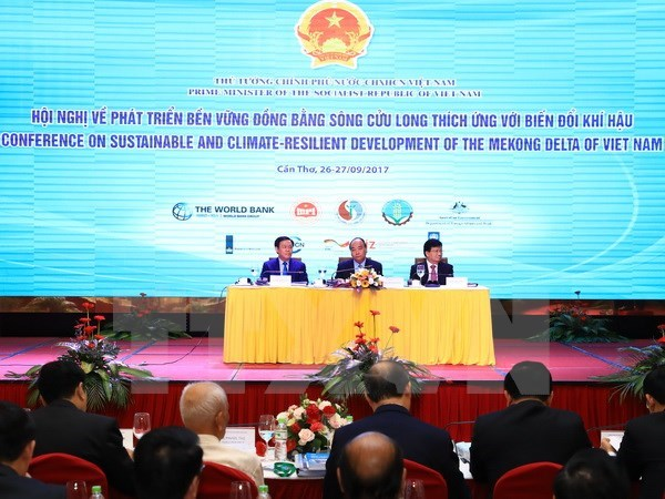Int'l partners vow support for climate-resilient projects in Mekong Delta hinh anh 1