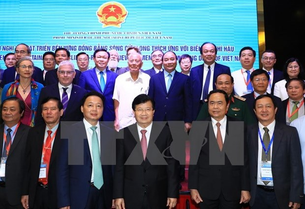 PM calls for foreign support for Mekong Delta development hinh anh 1