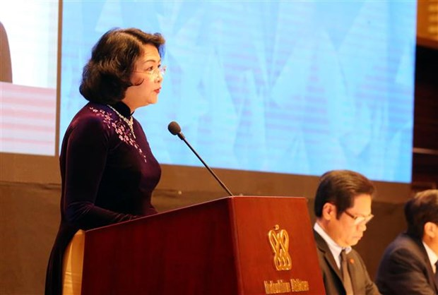 Joint efforts called to boost women's leadership rate to 50 percent hinh anh 2