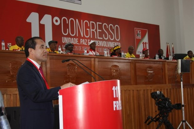 CPV delegation attends congress of FRELIMO Party hinh anh 1