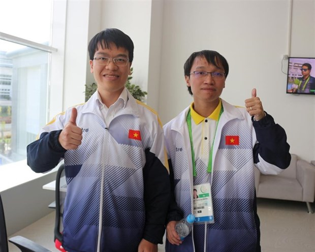 Liem, Son win blitz event at AIMAG hinh anh 1