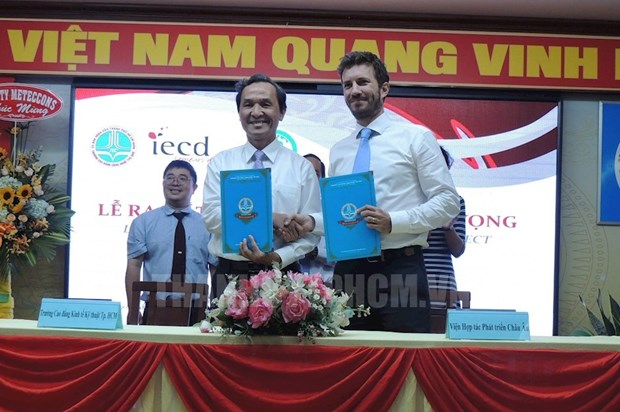 Project promotes job opportunities for youths in HCM City hinh anh 1