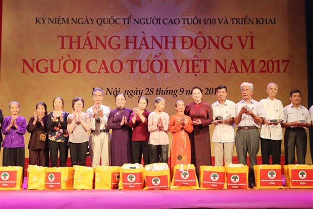 Action Month for the Vietnamese Elderly launched hinh anh 1