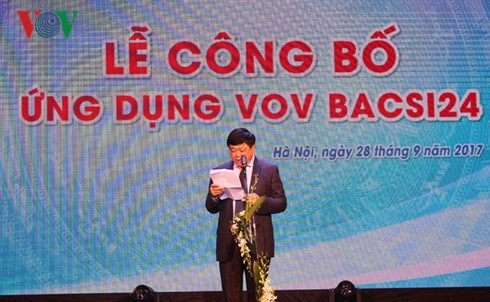 VOV-developed apps give online health consultations hinh anh 1