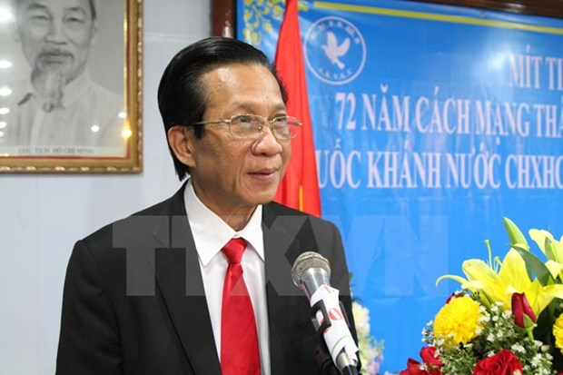 Cambodia's top legislator vows to back cooperation with Vietnam hinh anh 1