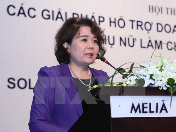 Vietnam suggests foundation of APEC women entrepreneurs' network hinh anh 1