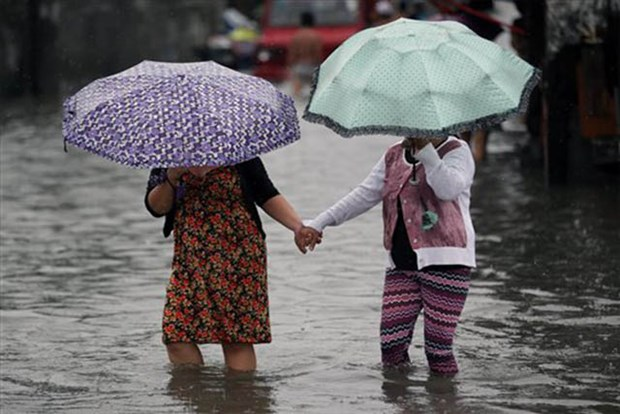WB, AIIB help Philippines tackle flooding in Manila hinh anh 1