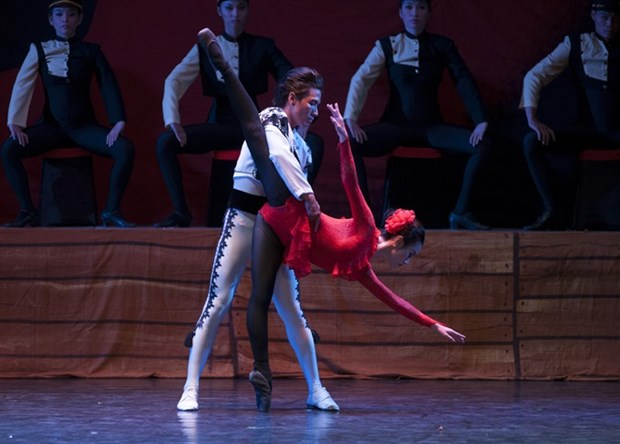 """""""A Night of Ballet"""" opens at HCM City Opera House hinh anh 1"""