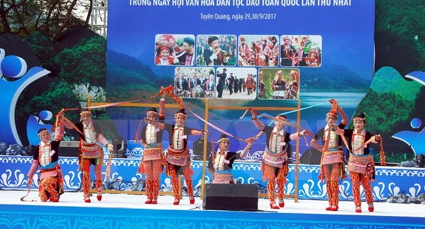 First National Festival of Dao Ethnic Culture kicks off hinh anh 1