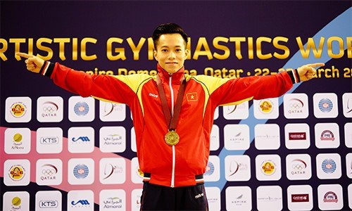 Vietnam to compete in world gymnastics championships hinh anh 1