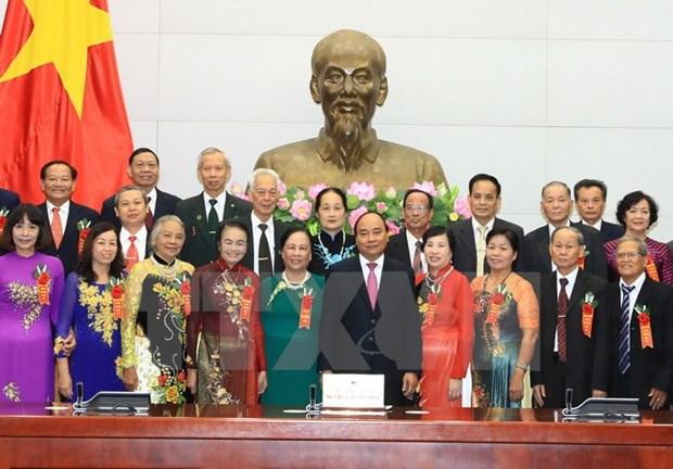 PM promises better social welfare for the elderly hinh anh 1