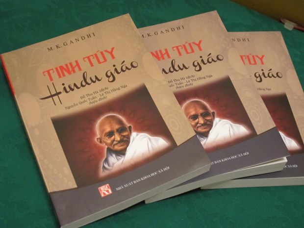 Workshop highlights non-violence philosophy of Indian leader hinh anh 1