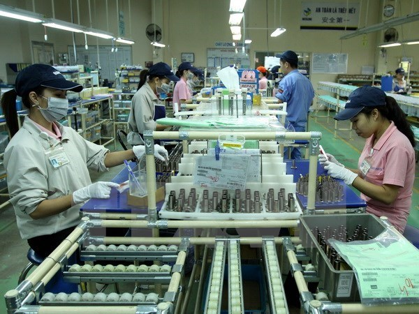 Binh Duong: Industrial production index rises 9.48 percent hinh anh 1