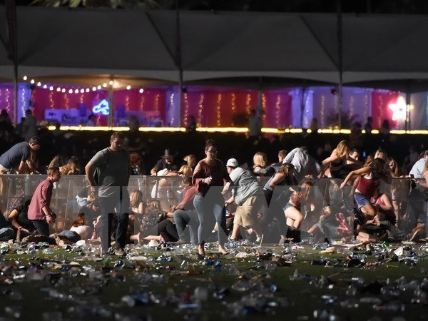 Vietnam sends condolences to US over tragic Las Vegas gun attack hinh anh 1
