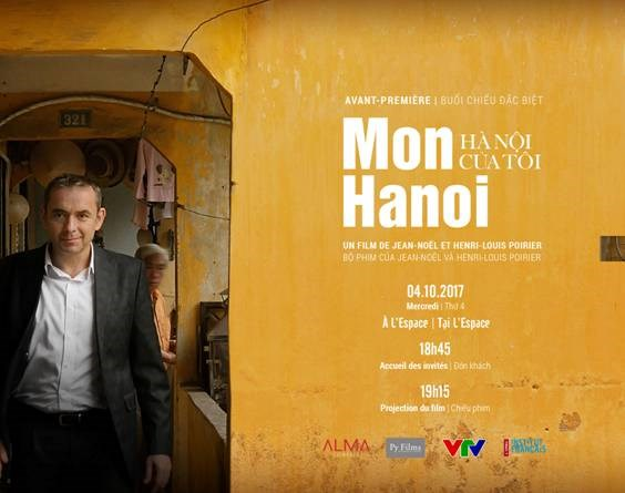 Hanoi documentary by ex-French Ambassador to be screened hinh anh 1