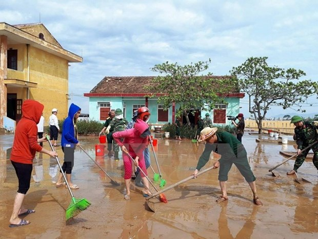 Cuba conveys sympathy to Vietnam over devastating storm, flood hinh anh 1