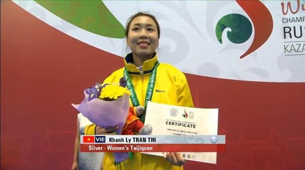 Vietnamese second best in wushu world hinh anh 1