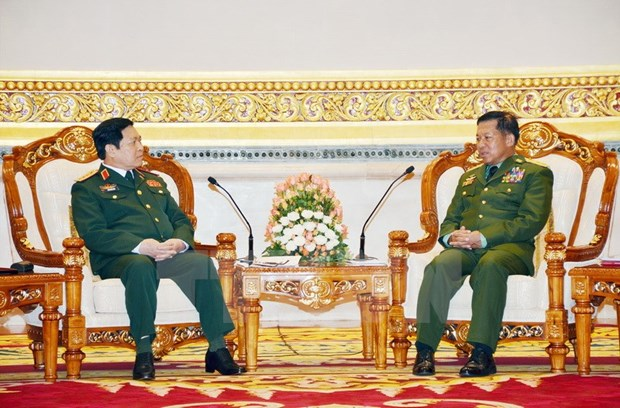 Defence Minister's visit to Myanmar a success hinh anh 1
