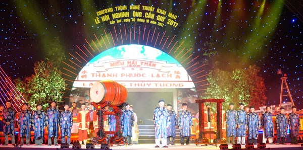 Nghinh Ong Festival opens in HCM City hinh anh 1