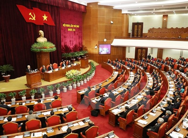 Party Central Committee opens sixth session hinh anh 1