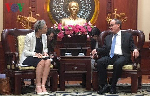 Netherlands readies to support HCM City's climate change adaptation hinh anh 1